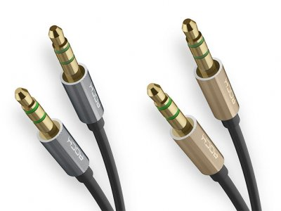 کابل صدا راک Rock AUX 3.5mm Audio Cable