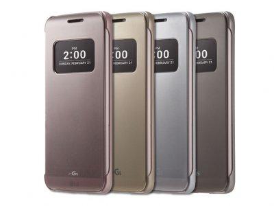 کیف اصلی ال جی Voia CleanUp Flip Cover Case LG G5