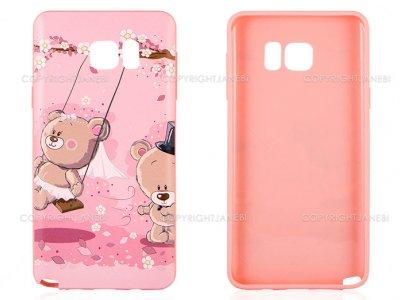 محافظ ژله ای سامسونگ طرح خرس Mobile Case Samsung Galaxy Note 5