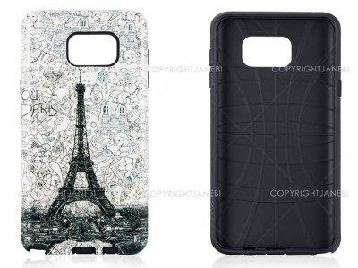 قاب محافظ سامسونگ طرح برج ایفل Mobile Case Samsung Galaxy Note 5