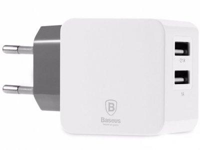 شارژر دو پورت بیسوس Baseus 3.1A Fondroid Dual USB Charger