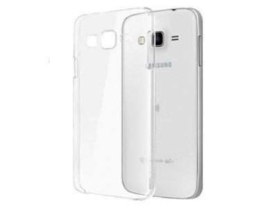 محافظ شیشه ای - ژله ای سامسونگ Samsung Galaxy J3 Transparent Cover