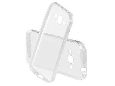 محافظ شیشه ای - ژله ای سامسونگ Samsung Galaxy J1 Ace Transparent Cover