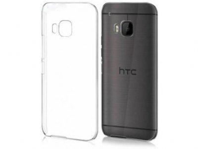 محافظ شیشه ای - ژله ای اچ تی سی HTC One M9 Transparent Cover