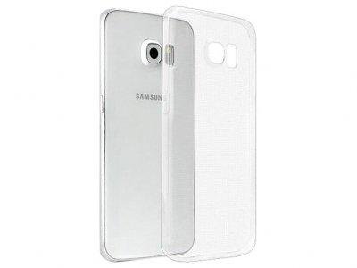 محافظ شیشه ای - ژله ای سامسونگ Samsung Galaxy S6 Edge Transparent Cover