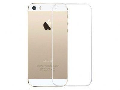 محافظ شیشه ای - ژله ای اپل iPhone 5/5s Transparent Cover