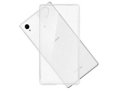محافظ شیشه ای - ژله ای سونی Sony Xperia Z5 Transparent Cover