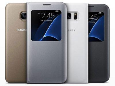 فلیپ کاور اصلی سامسونگ Samsung Galaxy S7 edge S View Flip Cover