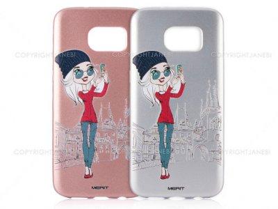 محافظ ژله ای سامسونگ طرح دختر عکاس Merit Case Samsung Galaxy S7 Edge