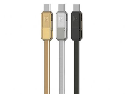 کابل شارژ و انتقال داده سه سر ریمکس Remax Gplex RC-070TH 3 in 1 Cable
