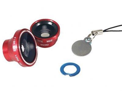 لنز گوشی موبایل لی کیو آی Lieqi LQ-010 Wide Angle, Fisheye & Macro Lens