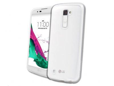 محافظ ژله ای اصلی ال جی Voia CleanUp Transparent Jelly Case LG K10