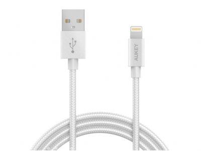 کابل تبدیل آکی Aukey CB-D16 USB To Lightning Cable 1.2m