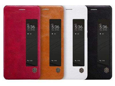 کیف چرمی نیلکین هواوی Nillkin Qin Leather Case Huawei P10 Plus