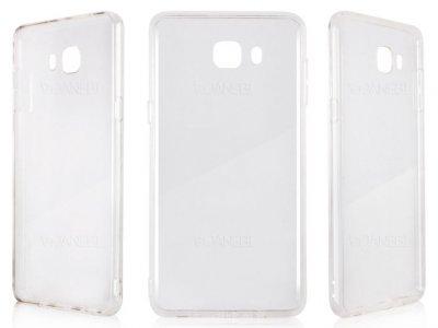 محافظ شیشه ای - ژله ای سامسونگ Samsung Galaxy C9 Pro Transparent Cover