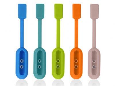 پایه نگهدارنده آهن ربایی دستبند شیائومی Xiaomi Silicone Magnetic Clasp Clip Mi Band