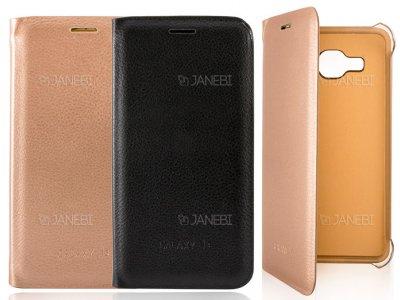 فلیپ کاور چرمی سامسونگ Samsung Galaxy J3 Flip Cover