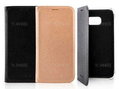 فلیپ کاور چرمی سامسونگ Samsung Galaxy S7 Flip Cover