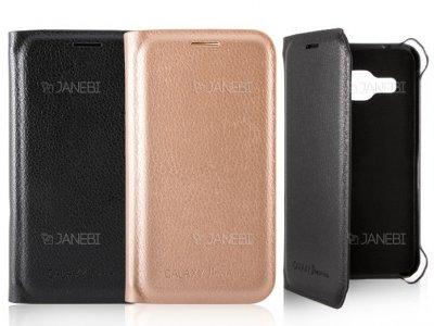 فلیپ کاور چرمی سامسونگ Samsung Galaxy J1 mini prime Flip Cover