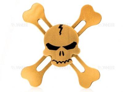 اسپینر فلزی اسکلتی چهار پره ای Fidget Spinner Skeletal