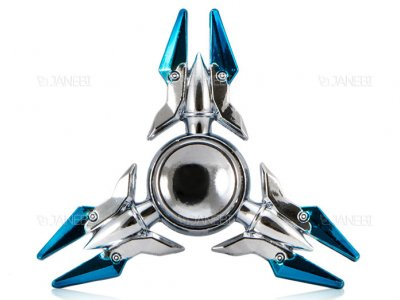اسپینر فلزی سه پره ای طرح ترانسفورمرز Fidget Spinner Metal Transformers
