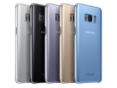 قاب محافظ اصلی سامسونگ Samsung Galaxy S8 Plus Ultra Thin Clear Cover