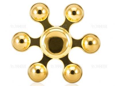 اسپینر فلزی شش پره ای توپی Fidget Spinner Metal Balls