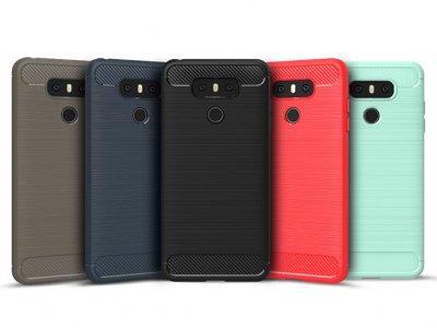 محافظ ژله ای ال جی Carbon Fibre Case LG G6