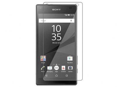 محافظ صفحه نمایش شیشه ای سونی Glass Screen Protector Sony Xperia Z5 Compact