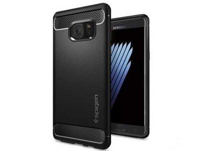 قاب محافظ ژله ای اسپیگن سامسونگ Spigen Rugged Armor Case Samsung Galaxy Note 7