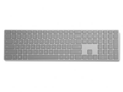 کیبورد مدرن مایکروسافت مجهز به حسگر اثر انگشت Microsoft Modern Keyboard With Fingerprint ID
