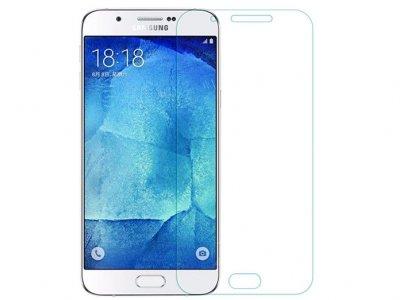 محافظ صفحه نمایش شیشه ای سامسونگ Glass Screen Protector Samsung Galaxy A8