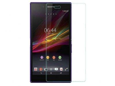 محافظ صفحه نمایش شیشه ای سونی Glass Screen Protector Sony Xperia Z Ultra