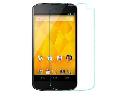 محافظ صفحه نمایش شیشه ای ال جی Glass Screen Protector LG Google Nexus 4