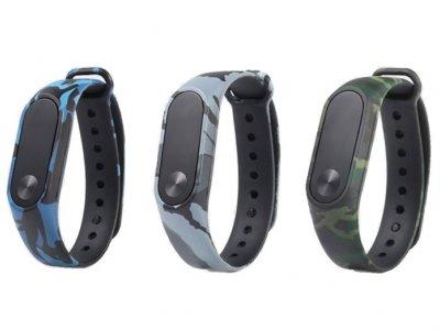 بند سیلیکونی چریکی دستبند سلامتی شیائومی Xiaomi Guerrilla Mi Band 2 Strap