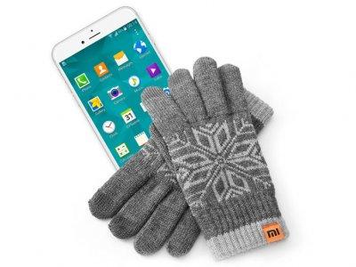 دستکش زمستانی شیائومی مخصوص گوشی های هوشمند Xiaomi Warm Wool Gloves