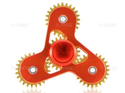 اسپینر فلزی سه پره ای چرخ دنده ای Fidget Spinner Metal Gear