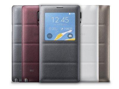 فیلیپ کاور اصلی سامسونگ Samsung Galaxy Note 4 S View Flip Cover