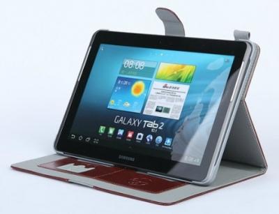 کیف چرمی مدل02 برای Samsung Galaxy Tab 2 10.1 P5100 مارک Ozaki
