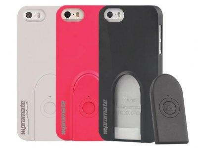 قاب محافظ پرومیت آیفون با شاتر دوربین Promate Selfie Case Apple iPhone 5/5S/SE