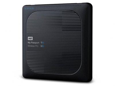 هارد اکسترنال وسترن دیجیتال 1 ترابایت Western Digital My Passport Wireless Pro External Hard Drive 1TB