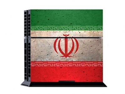 کاور اسکین کنسول بازی پلی استیشن 4 PS4 Skin Iran