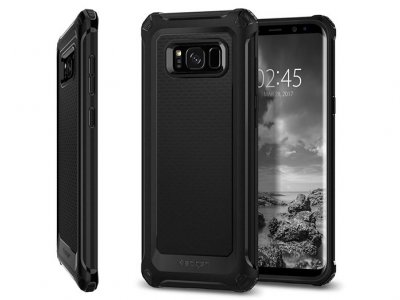 محافظ ژله ای اسپیگن سامسونگ Spigen Rugged Armor Extra Case Samsung Galaxy S8 Plus