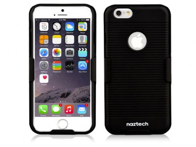 قاب محافظ و استند نزتک آیفون Naztech Double-Up Shell and Holster Combo iPhone 6 Plus/6s Plus