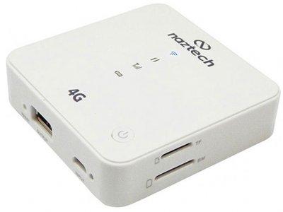 مودم بی سیم 4G و پاور بانک نزتک Naztech NZT-9930S 4G Router Wi-Fi Hotspot and Powerbank