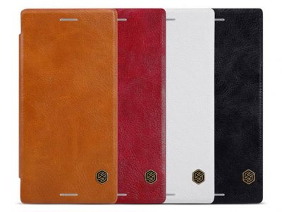 کیف چرمی نیلکین سونی Nillkin Qin Leather Case Sony Xperia XZ/XZs