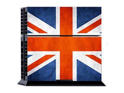 کاور اسکین کنسول بازی پلی استیشن 4 PS4 Skin Great Britain