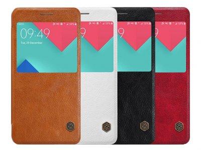 کیف چرمی نیلکین سامسونگ Nillkin Qin Leather Case Samsung Galaxy A9