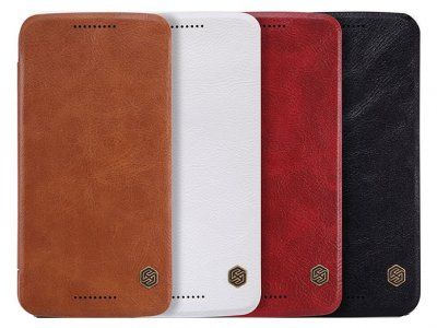 کیف چرمی نیلکین موتورولا Nillkin Qin Leather Case Motorola Moto X Style