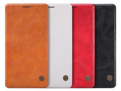 کیف چرمی نیلکین سامسونگ Nillkin Qin Leather Case Samsung Galaxy A7
